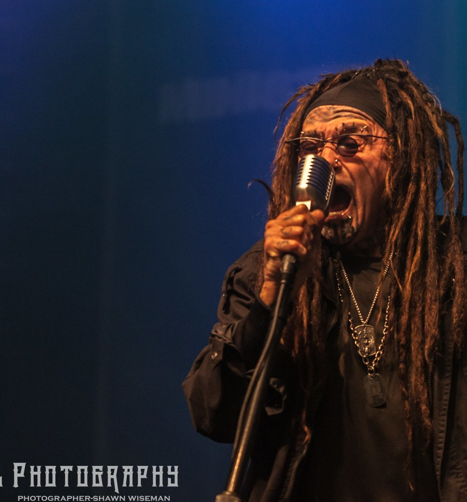 Ministry Performing at Express Live - Columbus OH - 10-24-17