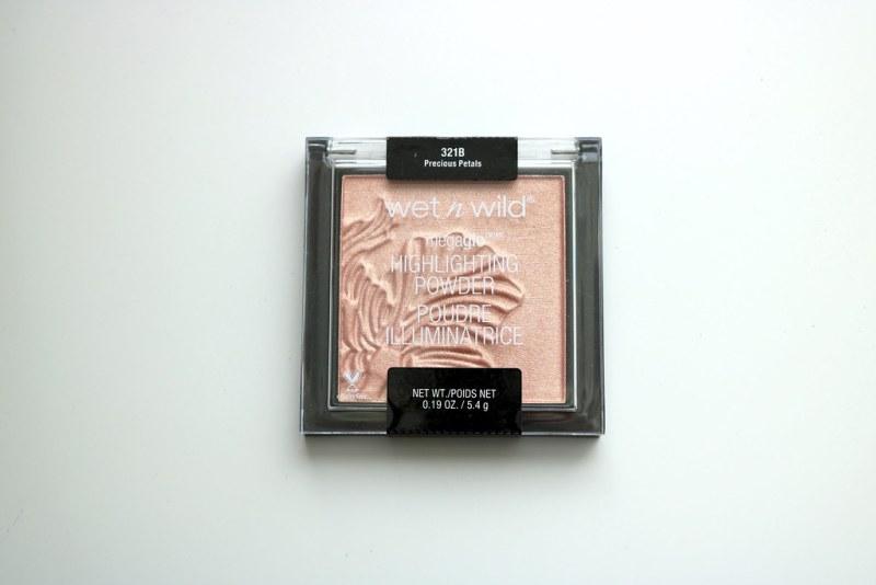 Wet n Wild highlighter packaging