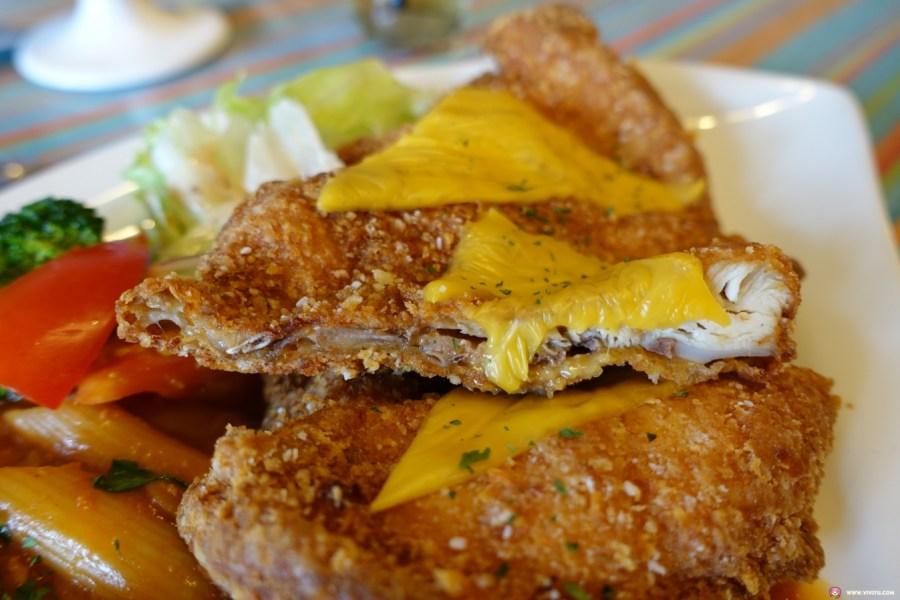 平價義大利麵,桃園美食,焗烤,燉飯,簡餐,義大利麵,藍迪亞義大利麵 @VIVIYU小世界