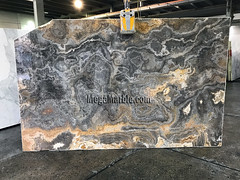 Black Onyx 2cm marble slabs for countertops
