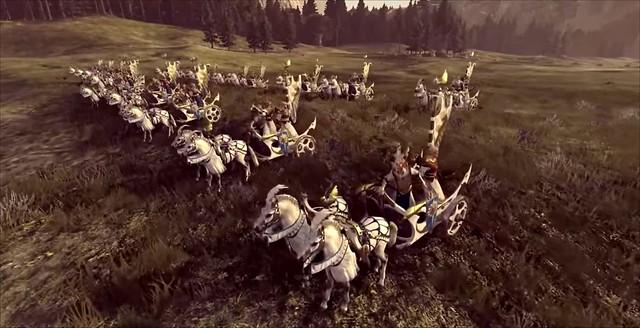 총 전쟁 Warhammer 2 - Tiranoe Chariot