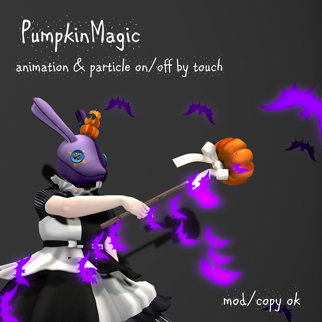 *NAMINOKE*Pumpkin magic lod