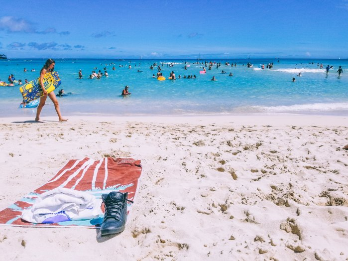 Oahu Beach Guide - A Perogy and Panda Hawaii Travel Guide - Royal Moana Beach