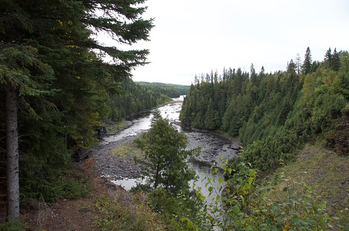 Kakabeka Falls downriver