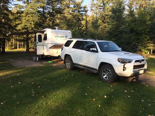Whitemouth camping