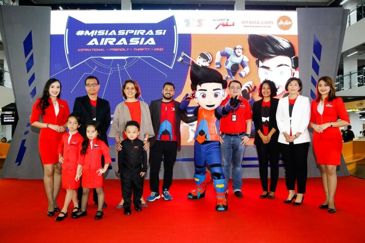 Ejen Ali & AirAsia Lancar Impian Dalam #MisiAspirasiAirAsia