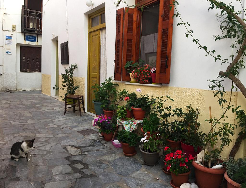 · Barrio de Kastro, Naxos ·