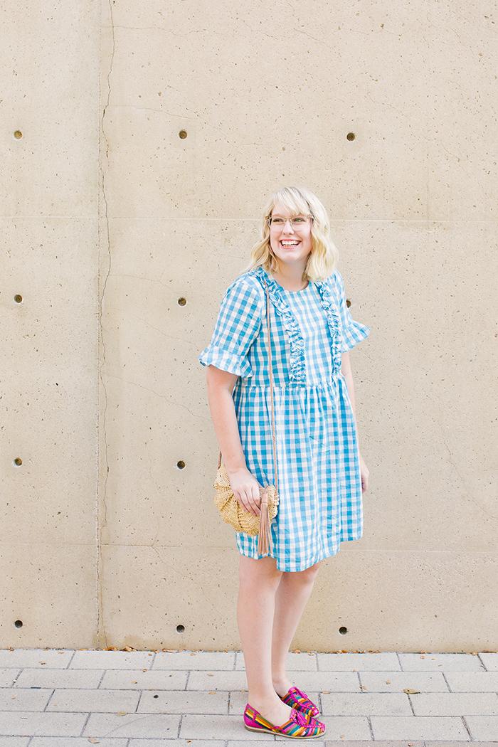 austin fashion blogger writes like a girl asos gingham dress2
