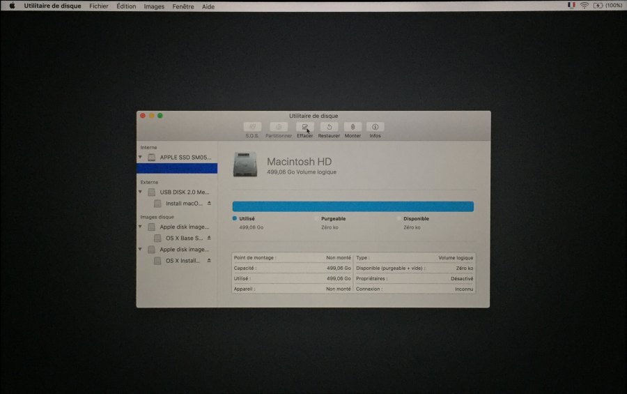 Installation mac OS Etape 00004