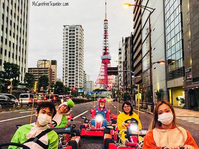 Street go-karting in Tokyo