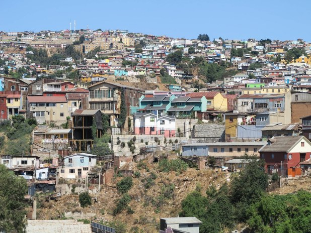 Cerro en Valparaíso