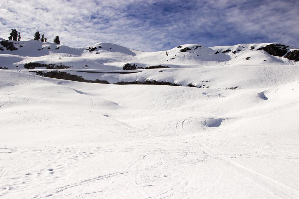 Earning ski turns