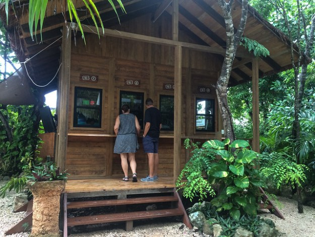 Ticket Booth at Rio Secreto