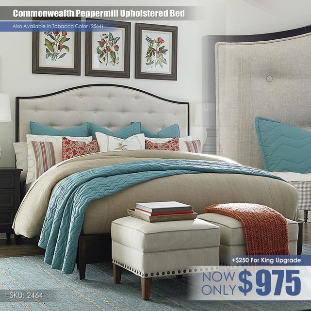 Commonwealth Peppermill Upholstered Bed_2464-K163A-FA15