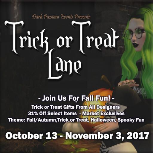 Trick or Treat Lane - 2017 - Crop Square