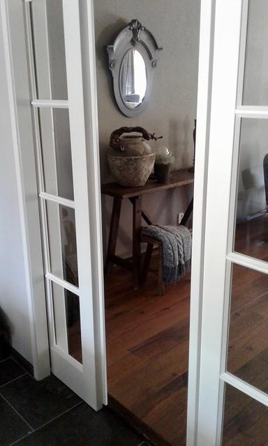 Schuifdeuren tussen keuken en woonkamer