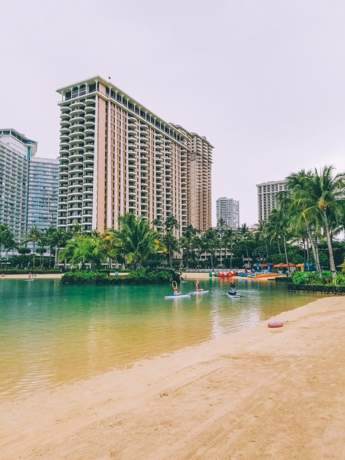 Oahu Beach Guide - A Perogy and Panda Hawaii Travel Guide - Kahanamoku Beach