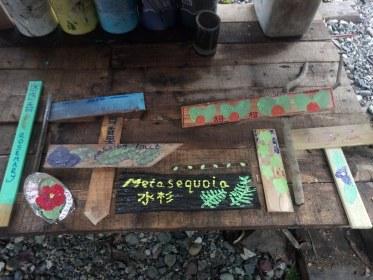 Rosanna's plant signs