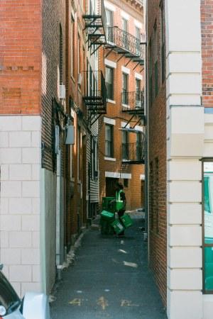 Greenough Alley - Boston
