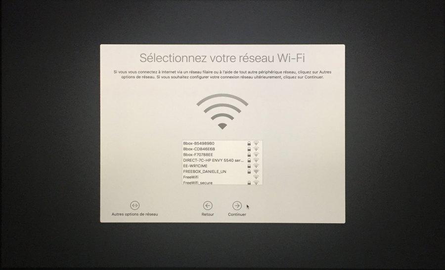 Installation mac OS Etape 00015