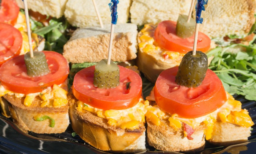 Pimento Cheese Sandwiches, FM Dons - Punta Gorda Restaurant Week 2017 - Launch Party, Oct. 26, 2017