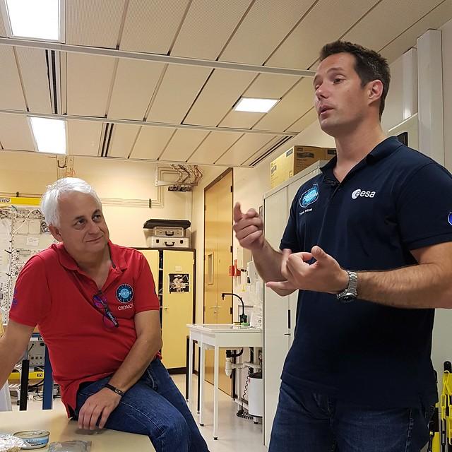 Thomas Pesquet et Alain Maillet du CADMOS répondent à nos questions sur la nourriture dans l'ISS