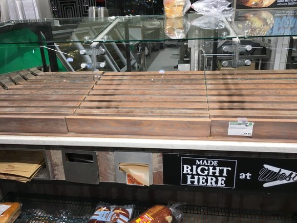 No bread for you at Whole Foods