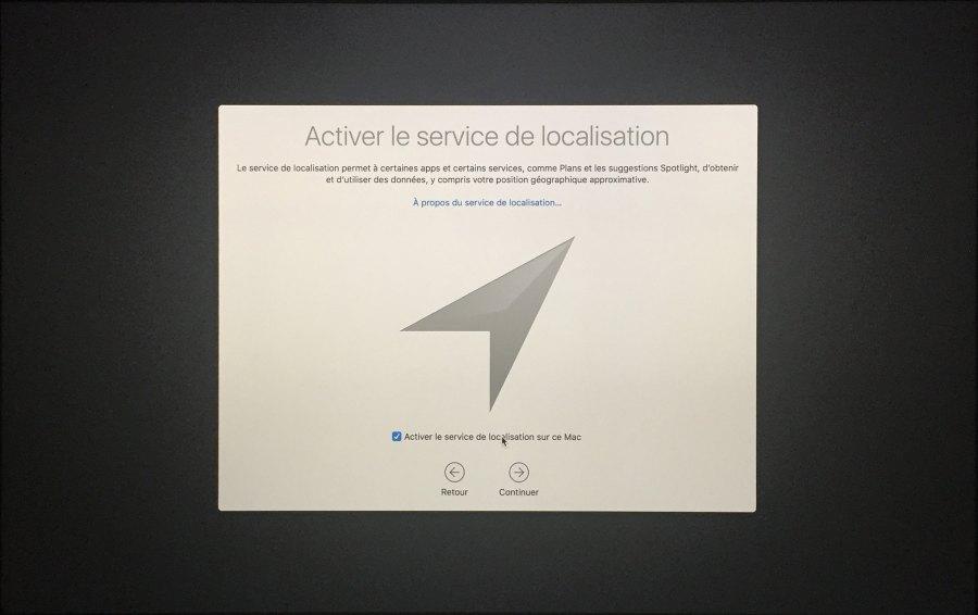 Installation mac OS Etape 00017