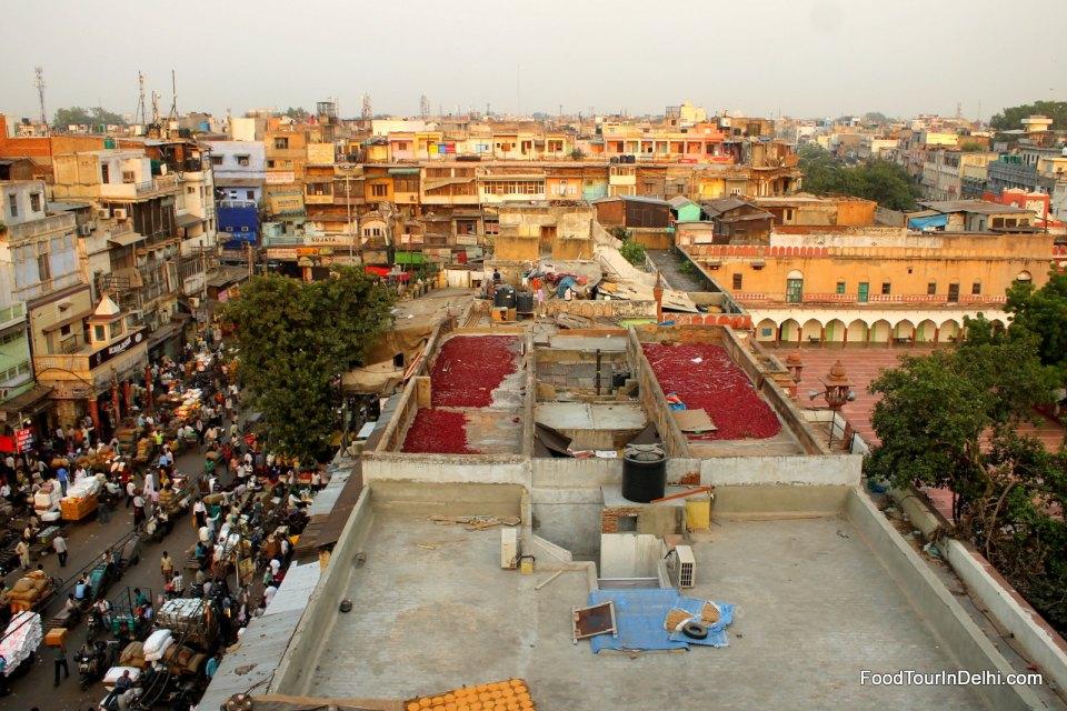 Spice market of Old Delhi