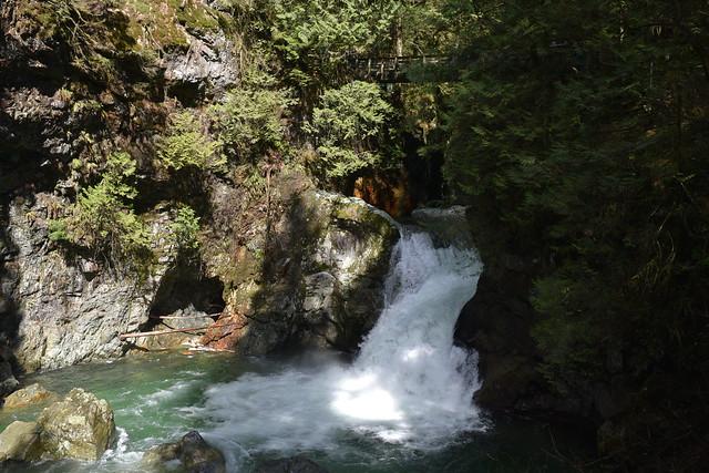 Waterfall at Lynn Canyon