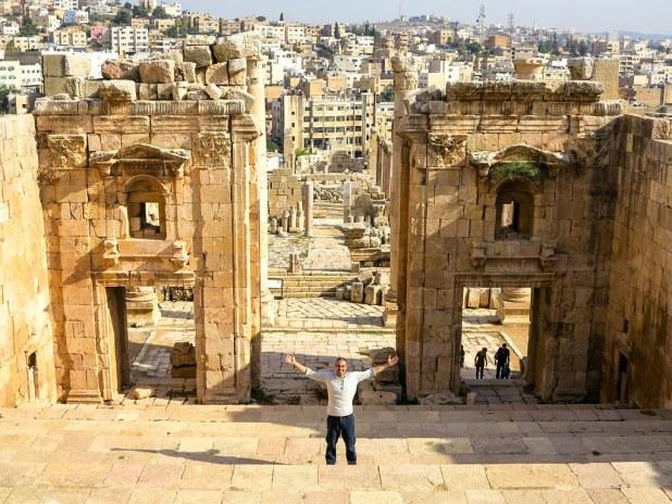 Visita a la ciudadela de Ammán