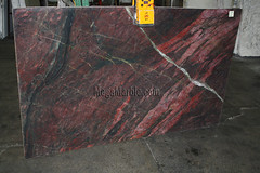 Fire Red Quartzite Countertop Slabs