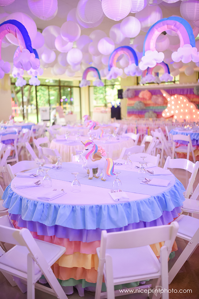 Stella S Magical Unicorn Themed Party 1st Birthday