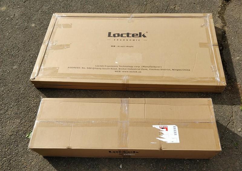 LOCTEK 電動昇降デスク レビュー 1