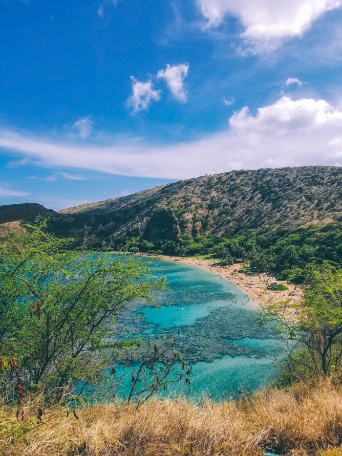 Oahu Beach Guide - A Perogy and Panda Hawaii Travel Guide - Hanauma Bay