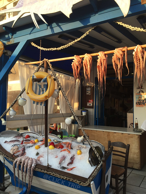 Restaurantes con pescado fresco en el barrio del puerto de Naxos | Que ver en Naxos | Islas Griegas | ClickTrip.ES