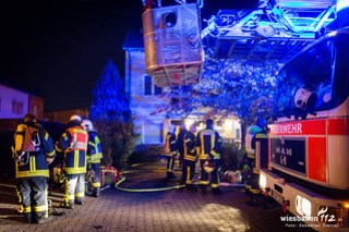 Dachgeschossbrand Eschborn 19.10.17