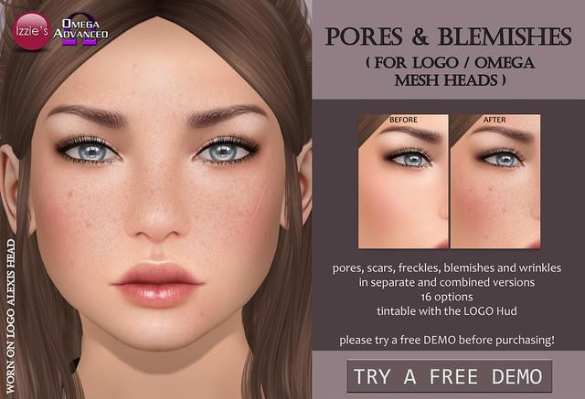 Pores & Blemishes LOGO/Omega for TLC