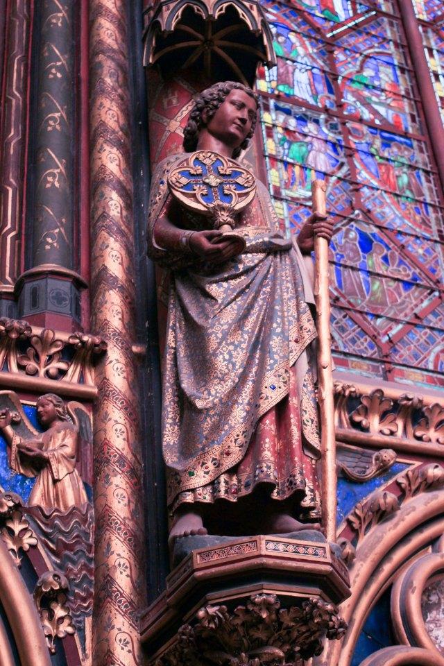 beauté interieur sainte chapelle