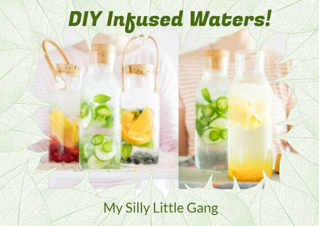 DIY Infused Waters ~ Recipes