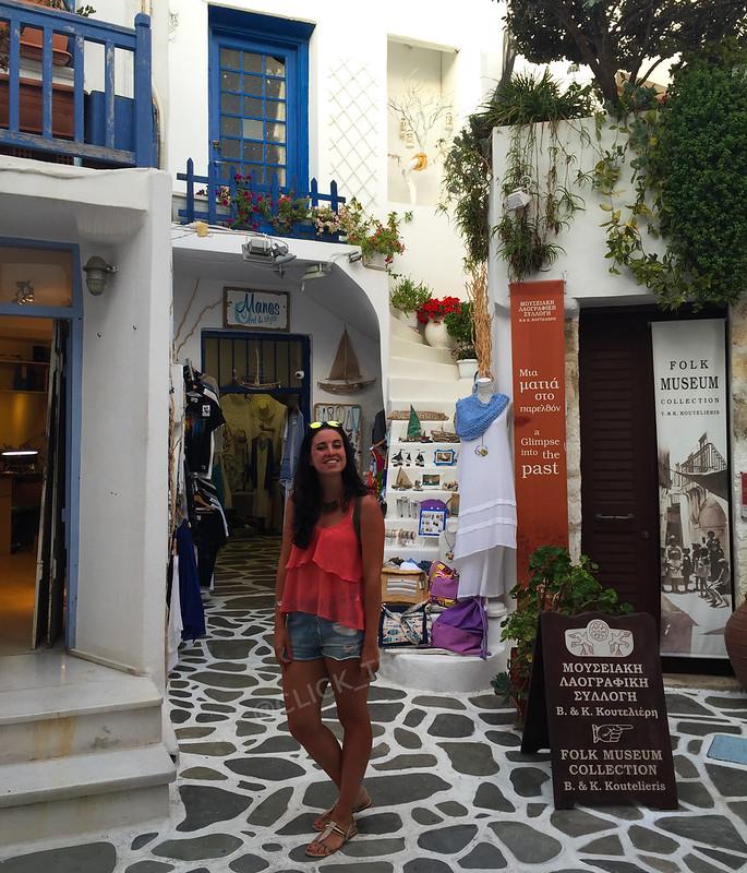 Tiendas en el barrio de Agios Giorgios | Islas Griegas | ClickTrip.ES