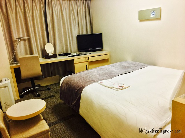 Single room, Richmond Hotel Narita