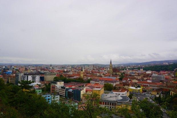 Panoramic view from Cetățuia