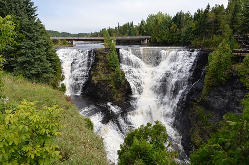 Kakabeka Falls themselves