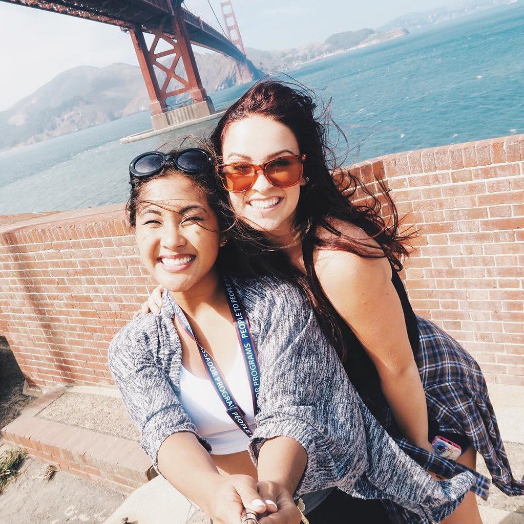 Top of Fort Point San Francisco with Shannon   RACHEYwrites