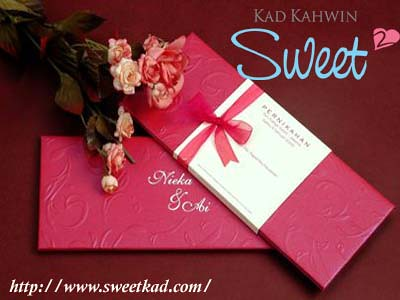 Kad kahwin online sweet kad