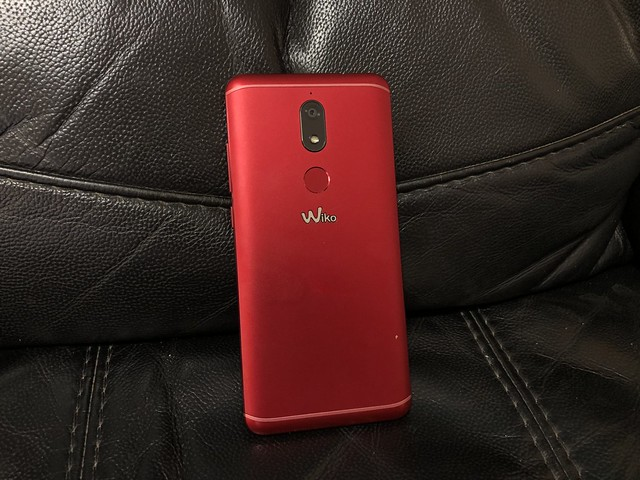 Wiko View Prime ด้านหลัง