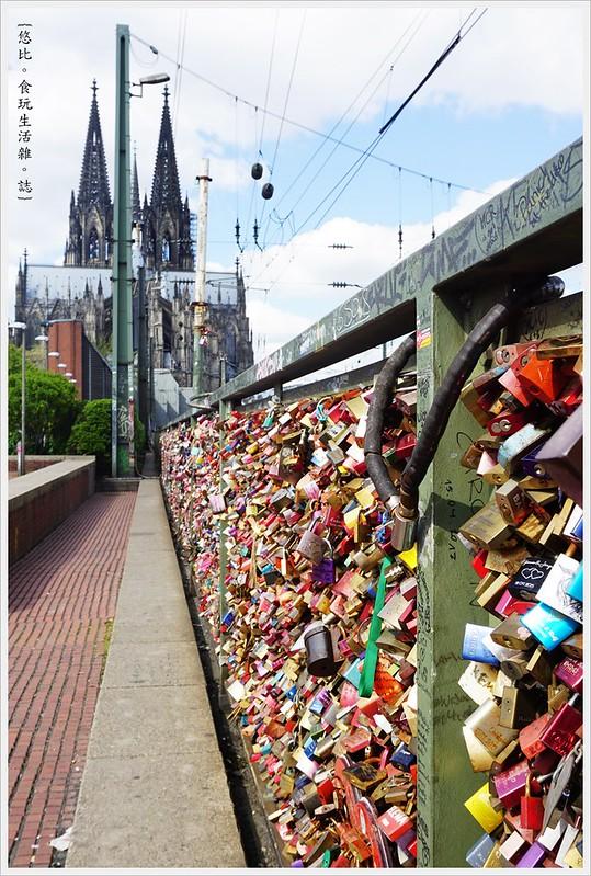 [德國 科隆一日遊。霍亨索倫鐵橋] @ 悠比~[食。玩] :: 痞客邦