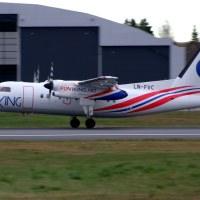 FlyViking LN-FVC, OSL ENGM Gardermoen
