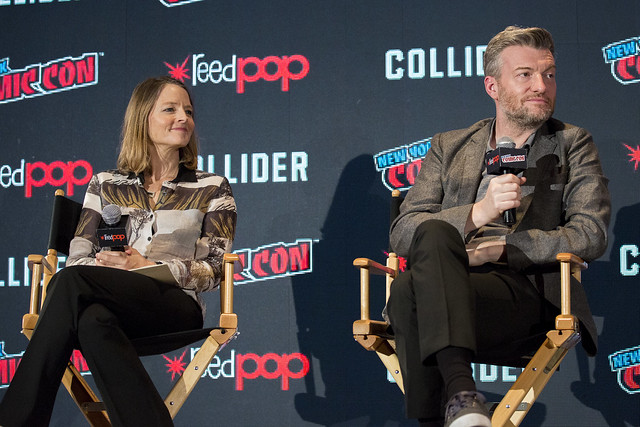 Jodie Foster and Charlie Brooker